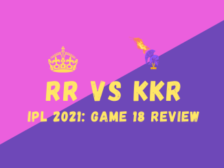 RR Vs KKR graphic