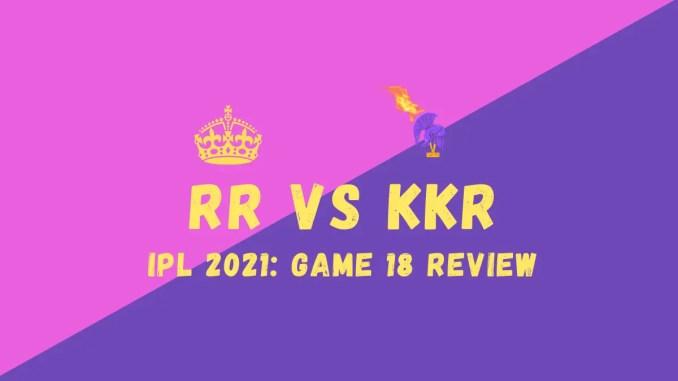 RR Vs KKR graphic