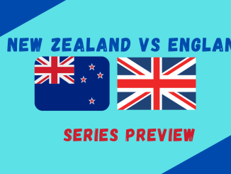 New Zealand Vs England Test Series Review graphic