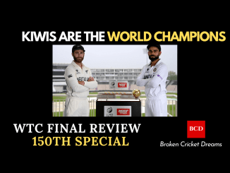 World Test Championship Final Review Graphic