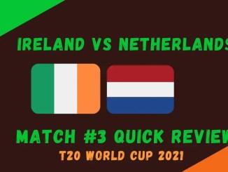 Ireland Vs Netherlands Graphic