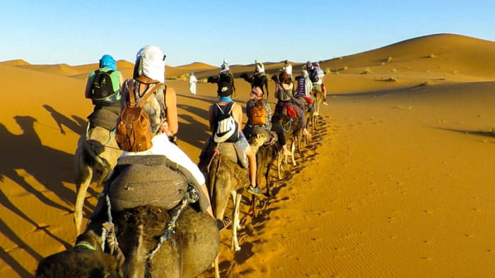 Riding Camels Morocco Desert Tour