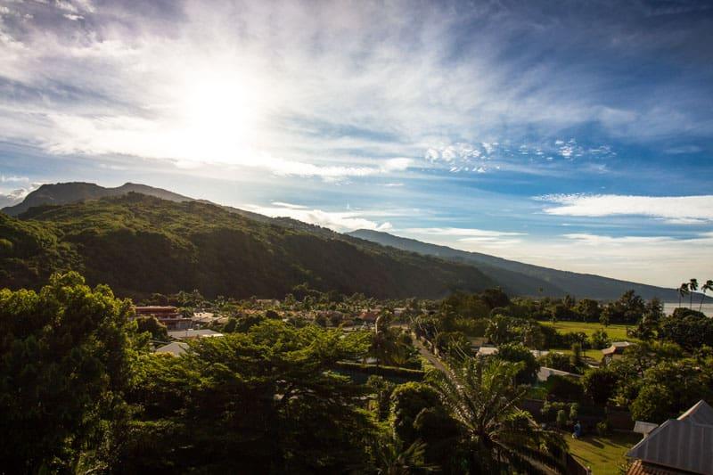 Islands of Tahiti Sunrise