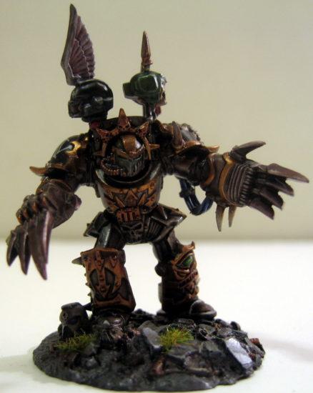 Iron Warrior Captian Nestryx