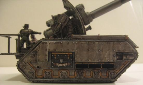Iron Warriors Basilisk Tank: Atropos