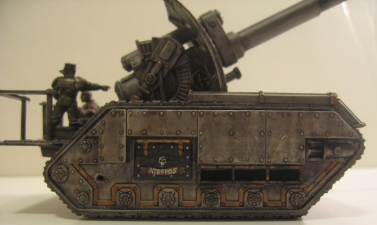 Iron Warriors Basilisk Tank: Atropos