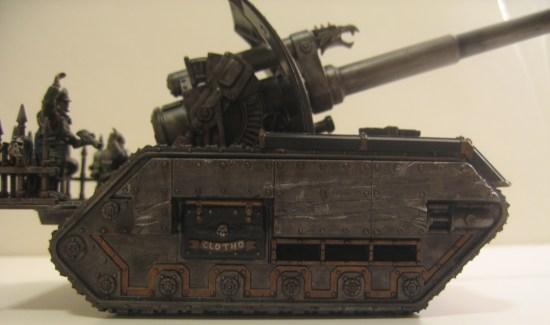 Iron Warriors Basilisk Tank: Clotho
