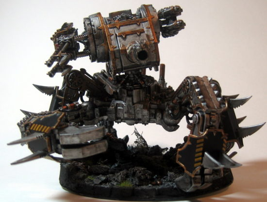 Iron Warrior Defiler (Front View)
