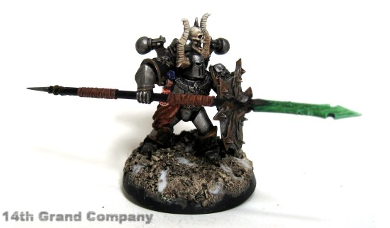 How I paint Iron Warriors, Stage 6: The Base, Step 3: Glue