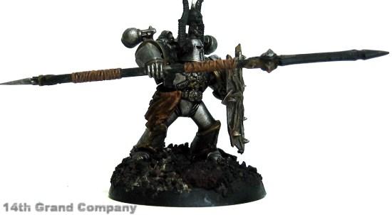 How I paint Iron Warriors, Part 2: Leather, Step 5: Ogryn Flesh Wash