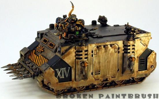 Iron Warriors Rhino #1 - left
