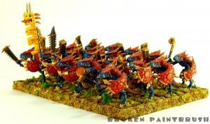 Saurus Warrior Unit