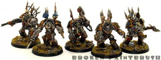 Iron Warrior Terminator Squad 4