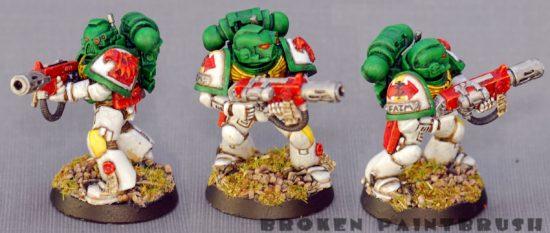 Mentor Legion Trooper #3 with Meltagun