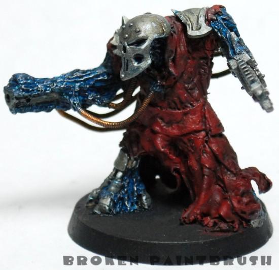 WIP Obliterator Sculpt 9 - Blue Painted
