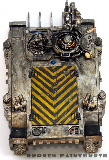 Iron Warriors Rhino 4 - Top Side
