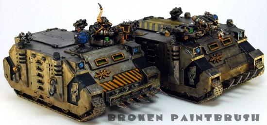 Iron Warriors Rhinos 3 & 4