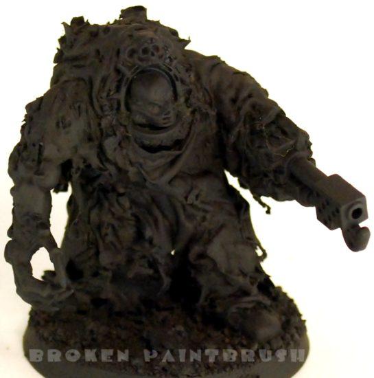 Sculpted Obliterator 2 - Primed Black