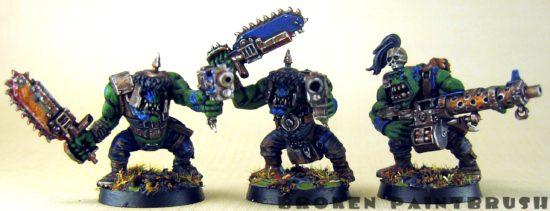 Ork Boyz 6, 7, & 8