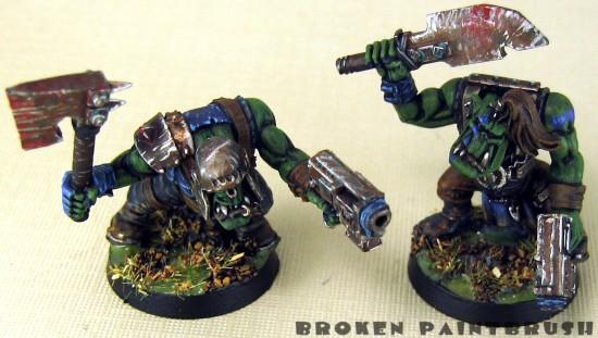 Ork Boyz 9 &10