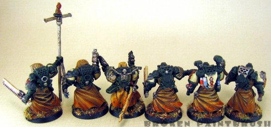 Cypher and his Command Squad of Fallen - Back