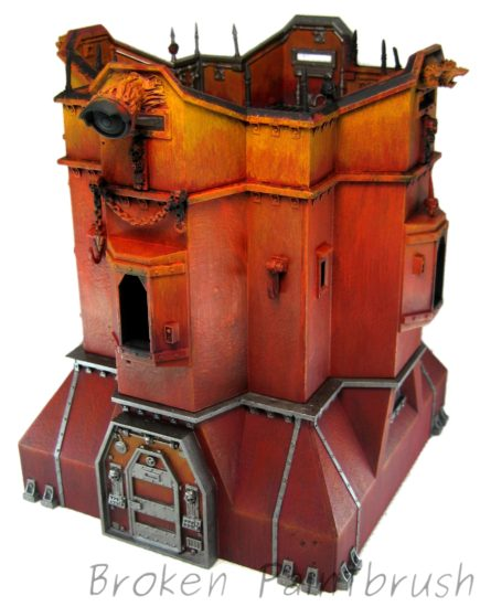 Chaos Bastion WIP - Front