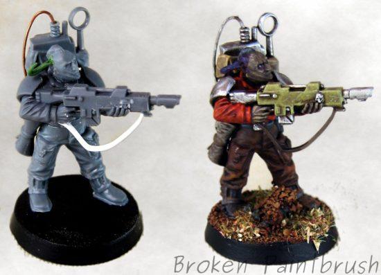 Traitor Guard Veteran Comm