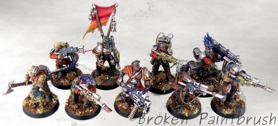Traitor Guard Veteren Squad