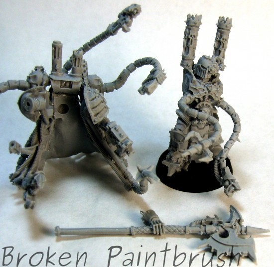 Warpsmith in Pieces for Painting