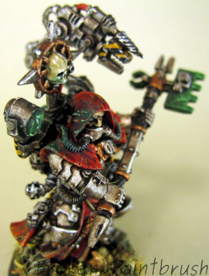 Traitor Guard Tech Priest, Dark Mechanicus
