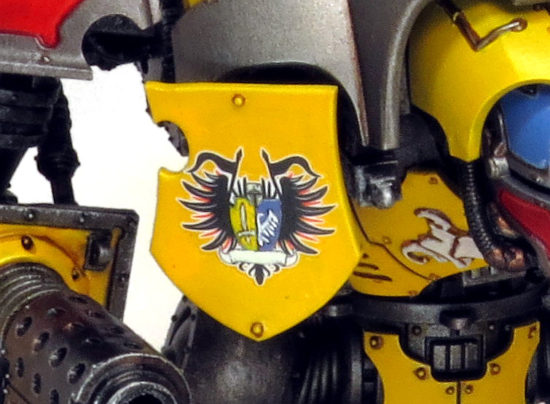 Tilting shield of Imperial Knight