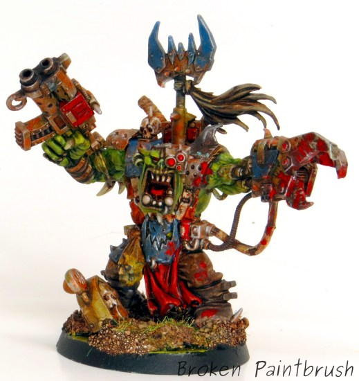 Death Skulls Ork Warboss from Assault on Black Reach