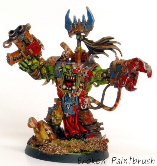 Death Skulls Ork Warboss from Assault on Black Reach