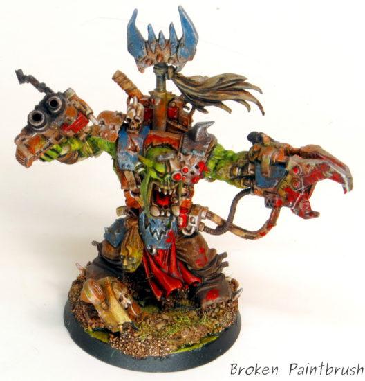 Deff Skulls Ork Warboss