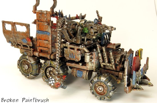 Ork Truck right side