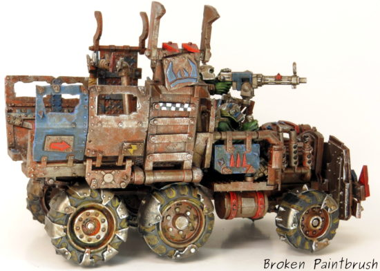 Right Side of Ork Trukk