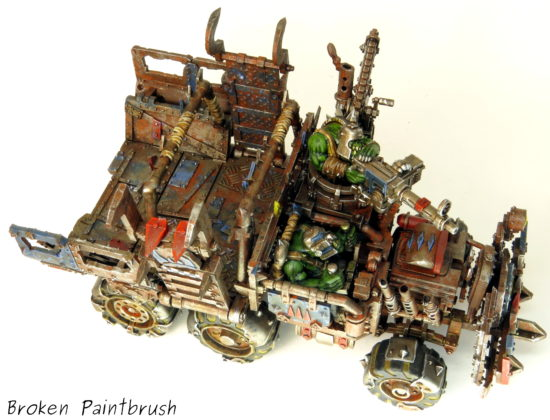 Top of a Death Skulls Ork Trukk