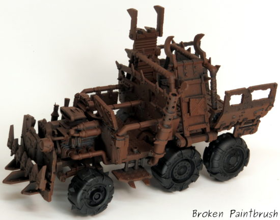 How to Paint an Ork Truck Step 1