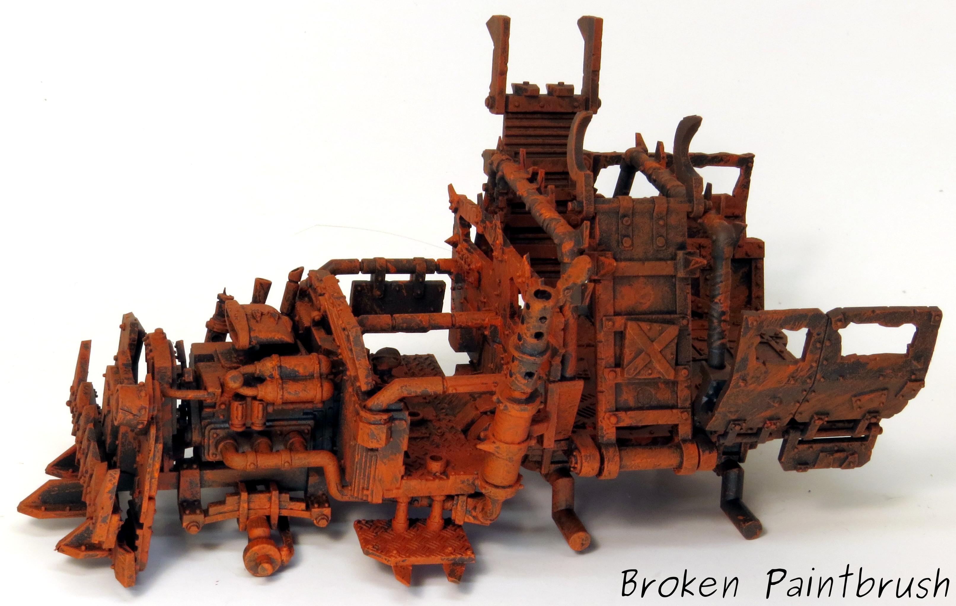 How to Paint an Ork Trukk - Broken Paintbrush