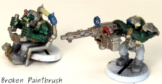 How to Paint an Ork Truck Step 7