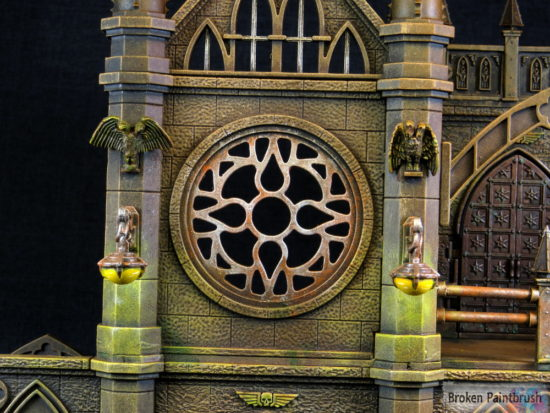 Pegasus Gothic Buildings for 40k Window