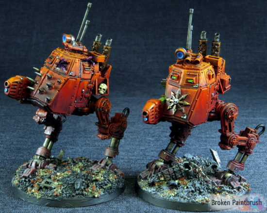 Traitor Guard Armored Sentinel Squad
