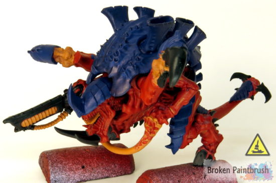 How to Paint a Carnifex Base Coats