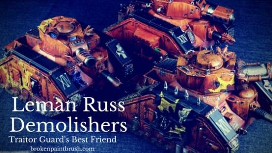 Leman Russ Demolisher Squadron Showcase