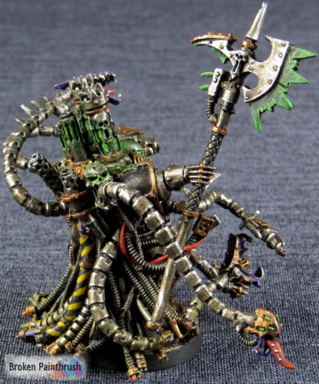 Iron Warriors Warpsmith right side