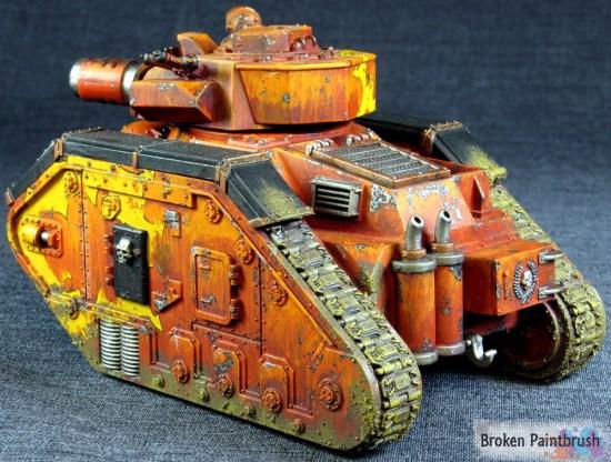 Traitor Guard Leman Russ Demolisher tank