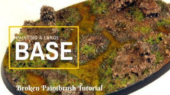 Painting a Large Base Tutorial