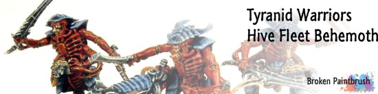 Tyranid Warriors Banner