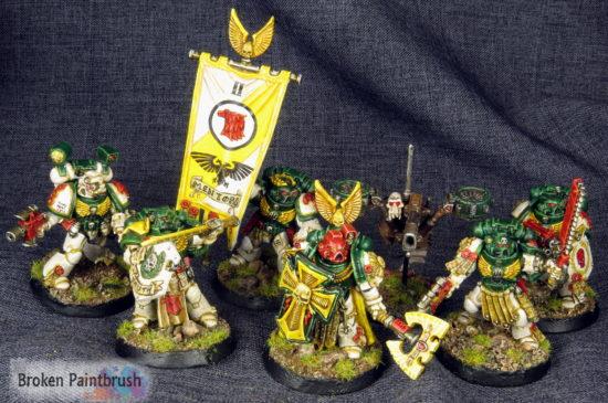 Mentor Legion Company Command Squad
