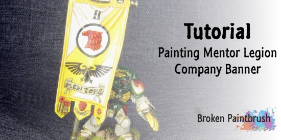 Painting Space Marine Banner Tutorial